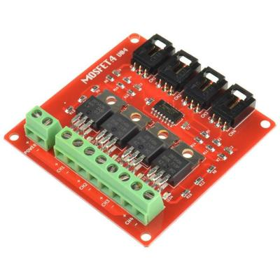 Arceli 4 Canales 4 Ruta Mosfet Button Irf540