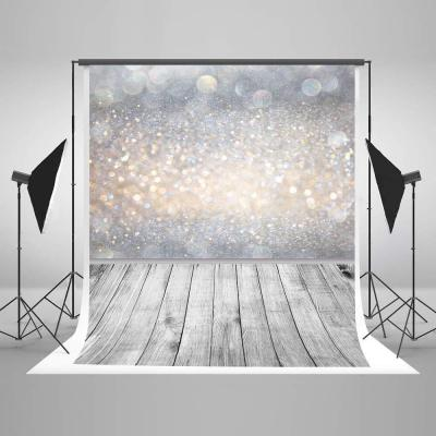 Kate 5x7ft 1.5x2.2m Glitter Microfiber Backdrop Bokeh Halos Backdrop Fondo