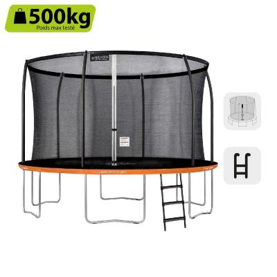 GREADEN Trampolín de Jardín Redondo Freestyle + 250 305 360 430 Pack Plus + Escala
